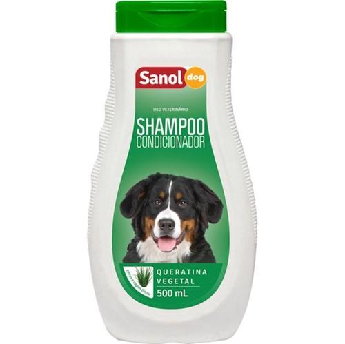 Shampoo e Condicionador Cao Sanol 500ml