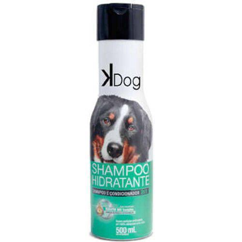 Shampoo e Condicionador K-Dog Hidratante 2x1 - 500 Ml