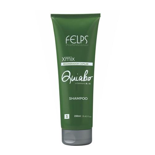 Shampoo Felps Xmix Quiabo Regenerador Capilar 250ml