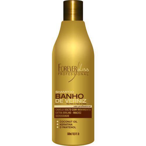 Shampoo Forever Liss Banho de Verniz - 500ml