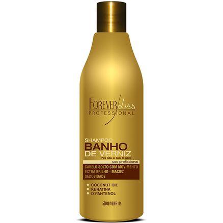 Shampoo Forever Liss Banho de Verniz Extra Brilho 500ml