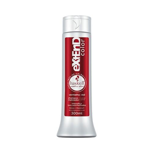 Shampoo Haskell Matizador Red 300ml