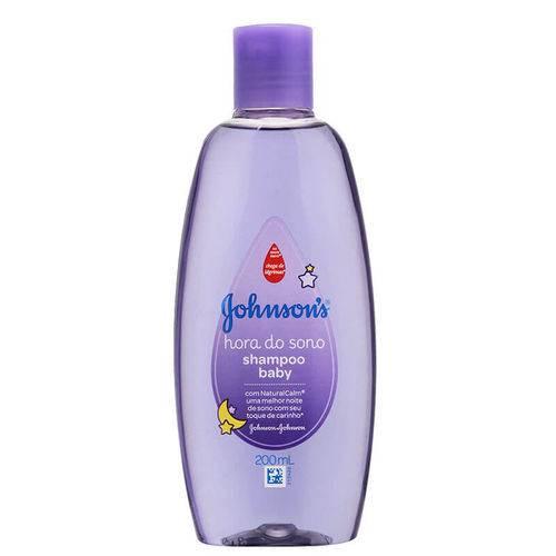 Shampoo Hora do Sono 200ml - Johnson & Johnson Baby