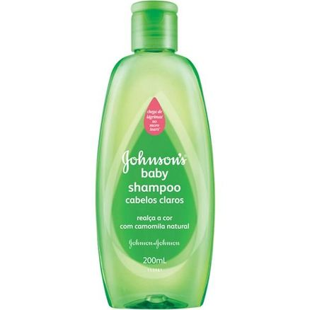 Shampoo Infantil Johnson Claros 200ml