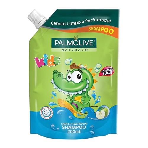 Shampoo Infantil Palmolive Kids Cabelo Cacheado Refil 200ml