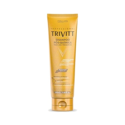 Shampoo Itallian Trivitt Pós-Química 280ml