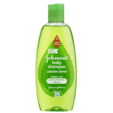 Shampoo Infantil Johnson's Baby Cabelos Claros Johnson & Johnson 200ml
