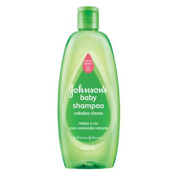 Shampoo Johnson's Baby Cabelos Claros Johnson & Johnson 400ml