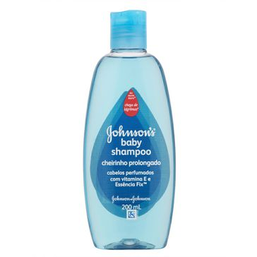 Shampoo Johnson & Johnson Baby Cheirinho Prolongado 200ml