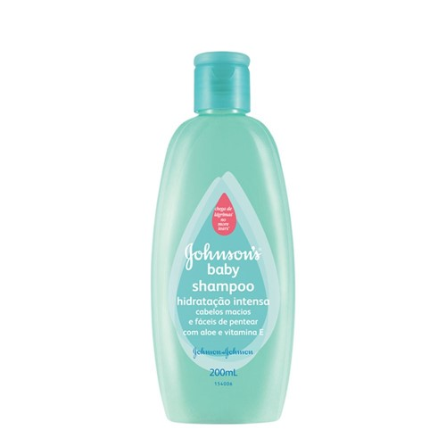 Shampoo Johnson & Johnson Baby Hidratante Intensa