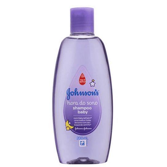 Shampoo Johnson & Johnson Baby Hora do Sono 200ml