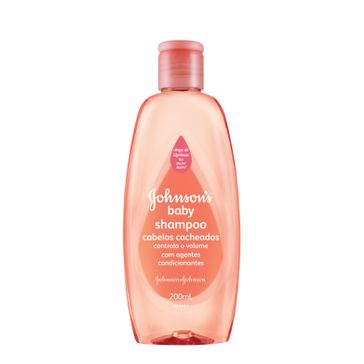 Shampoo Infantil Johnson's Baby Cachos Definidos Johnson & Johnson 200ml