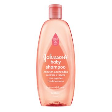 Shampoo Johnson's Baby Cachos Definidos Johnson & Johnson 400ml