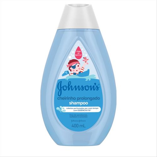 Shampoo Johnson´s Baby Cheirinho Prolongado 400ml