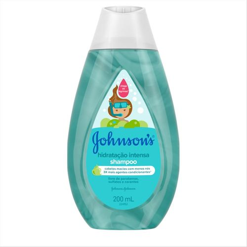 Shampoo Johnson´s Baby Hidratação Intensa 200ml