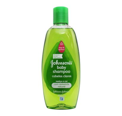 Shampoo Johnson's Baby Cabelos Claros 200ml - Johnson & Johnson