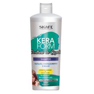 Shampoo Keraform Controle de Queda Skafe 500ml