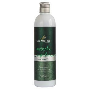 Shampoo Les Arômes Andiroba e Copaíba Orgânico Amazônia 300ml