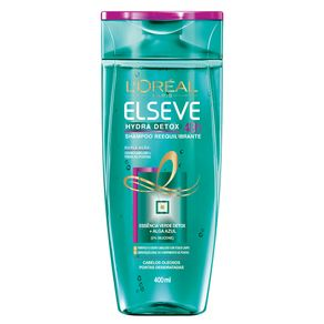 Shampoo L'Oréal Paris Elseve Hydra-Detox Reequilibrante 400ml