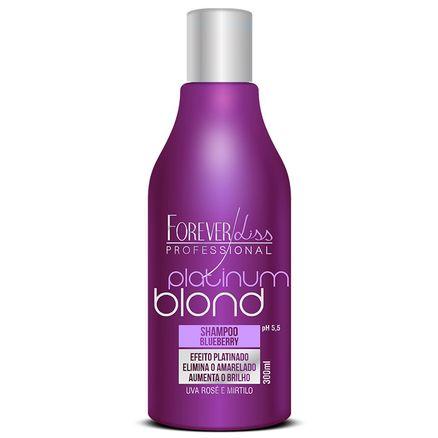 Shampoo Matizador Forever Liss Platinum Blond 300ml