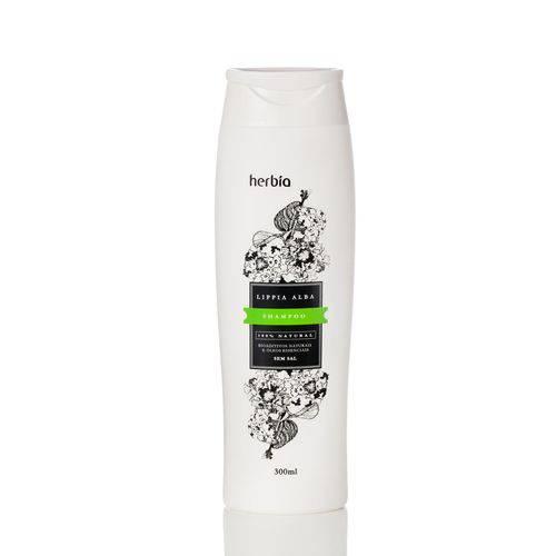 Shampoo Natural Cabelos Oleosos Lippia Alba Herbia 300 Ml