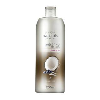 Shampoo Naturals Cabelo Nutrição e Brilho 750ml