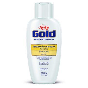 Shampoo Niely Gold Reparação Intensiva 300ml