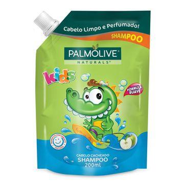 Shampoo Palmolive Kids Cabelo Cacheado Refil 200ml