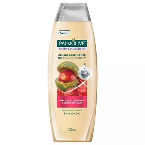 Shampoo Palmolive Natureza Secreta Brilho Fascinante 325ml