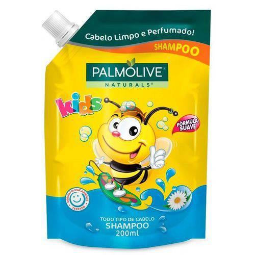 Shampoo Palmolive Refil Naturals Kids 200ml