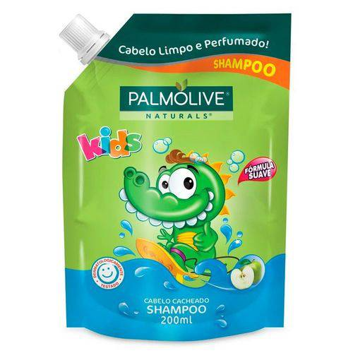 Shampoo Palmolive Refil Naturals Kids Cabelos Cacheados 200ml