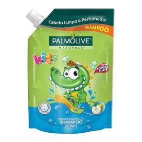 Shampoo para Cabelo Cacheado Palmolive Naturals Kids Refil 200ml