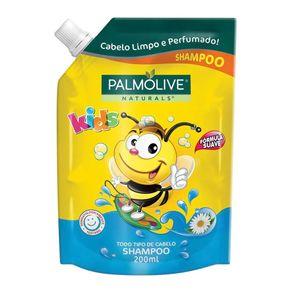 Shampoo para Todos os Tipos de Cabelo Palmolive Naturals Kids Refil 200ml