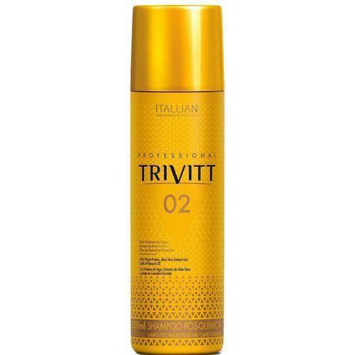 Shampoo Pós-química Itallian Trivitt 02 250ml