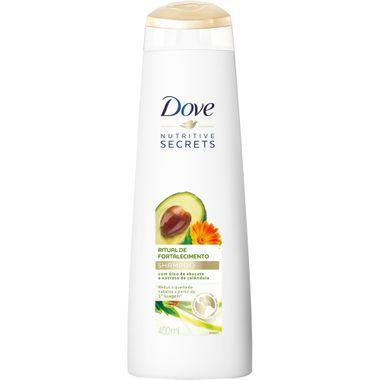Shampoo Ritual de Fortalecimento Dove 400ml Cx. C/ 12 Un.
