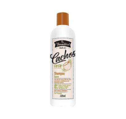 Shampoo Suave Coco Yamasterol Cachos 320ml - Yamá