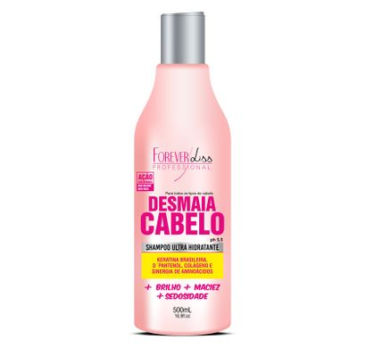 Shampoo Ultra Hidratante Desmaia Cabelo 500ml - Forever Liss