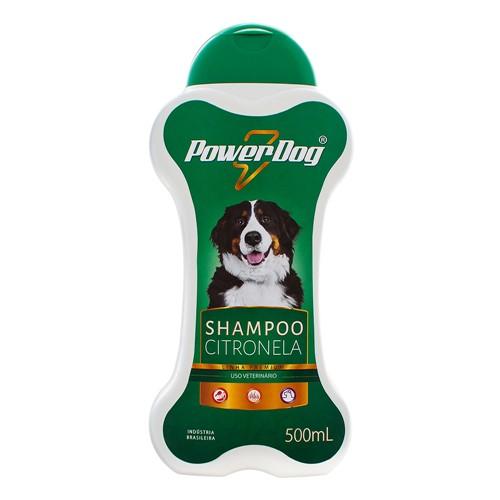 Shampoo Veterinário Powerdog Citronela com 500ml