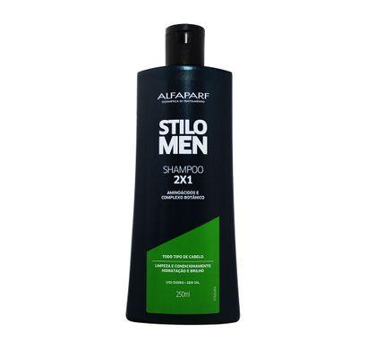 Shampoo 2 X 1 Stilo Men 250ml - Alfaparf