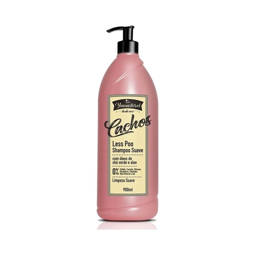 Shampoo Yamasterol Less Poo Cachos Yamá 900ml
