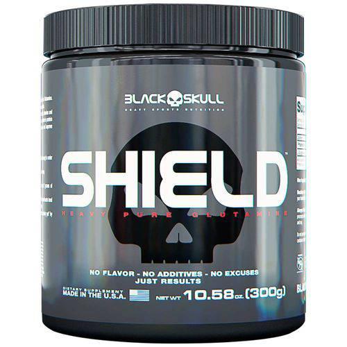 Shield - Pure Glutamine - 300g - Black Skull