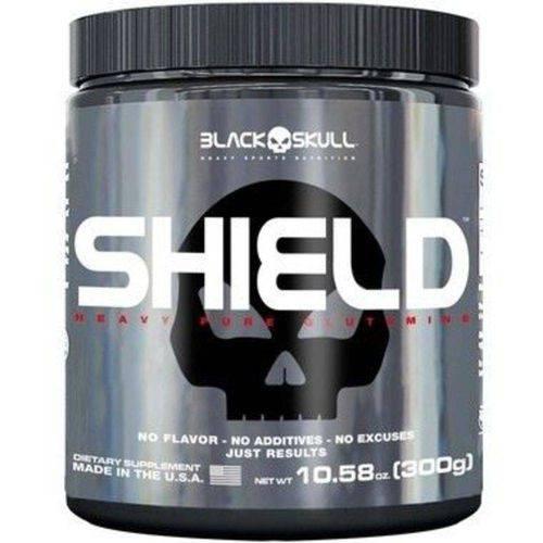 Shield Pure Glutamine (300g) - Black Skull