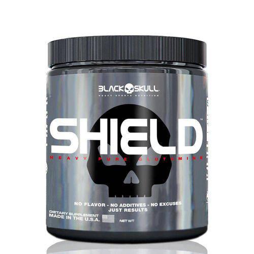 Shield Pure Glutamine - 100g - Black Skull