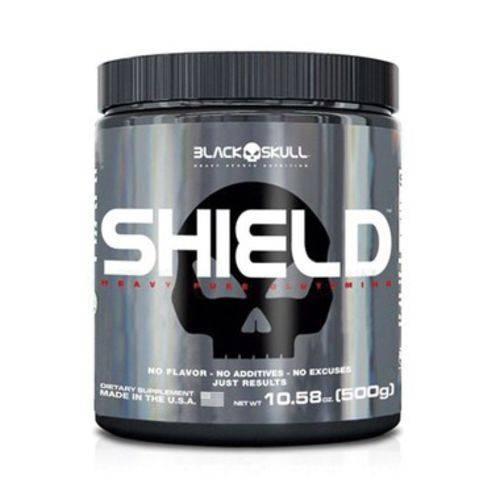 Shield Pure Glutamine (500g) - Black Skull