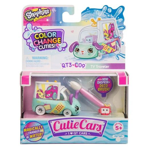 Shopkins Cutie Cars Muda de Cor TV Car - DTC