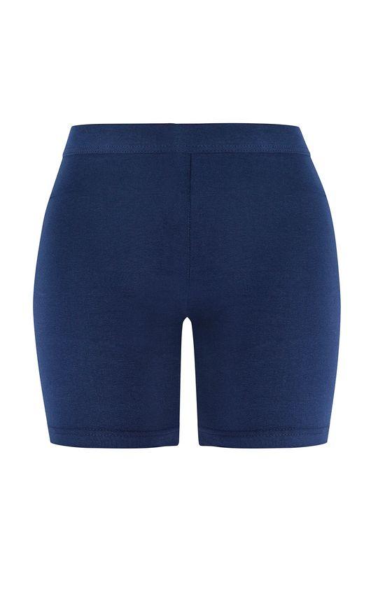 Short Básico Feminino Adulto Malwee Azul - G