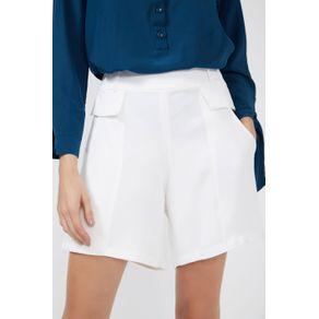 Short Bolso Tampa Branco - 36