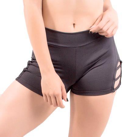 Short Curto Fitness Mirella Preto / P