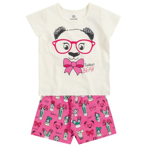 Short Doll Urso Panda - 3