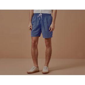 Short Elastico Parati Azul - P